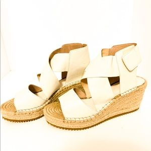 Eileen Fisher | Espadrilles Wedges size 7.5 NWOB